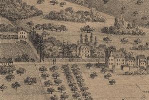 Sternenburg (Lithographie von Otto von Kreyfeld, 1861)