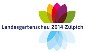 Logo Landesgartenschau 2014 in Zülpich