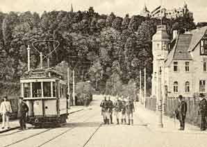 Ende der Argelanderstr. Richtung Venusberg 1904