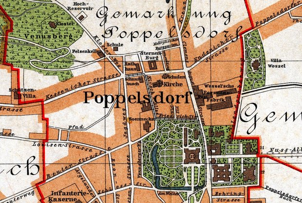 Poppelsdorf vor 1900