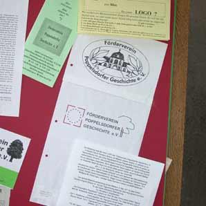 Dokumente aus der Heimatsammlung
