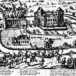 Im Truchsessischen Krieg (1583-1588) wird die Poppelsdorfer Burg teilweise zerstört
